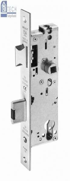 Anti-Panik-Einsteckschloss Kindergartenlösung, VA, 35 mm Dorn - WILKA 667K