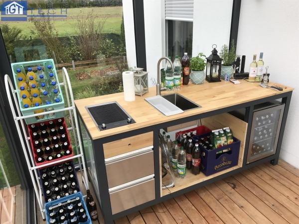 Outdoor Küche Ohne Wasseranschluss : Outdoor küche igt tech