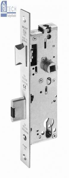 Anti-Panik-Einsteckschloss Kindergartenlösung, VA, 45 mm Dorn - WILKA 677K