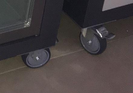 Lenkrolle 100 mm mit Bremse